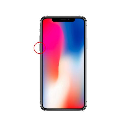 iPhoneX強制終了手順2