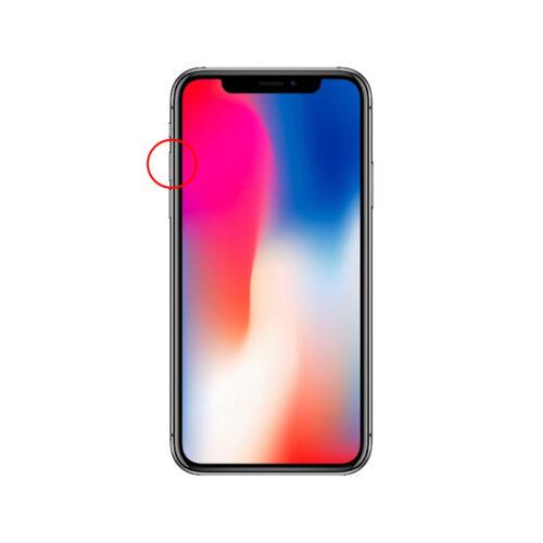 iPhoneX強制終了手順1