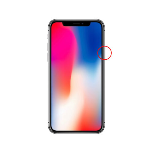 iPhoneX強制終了手順3