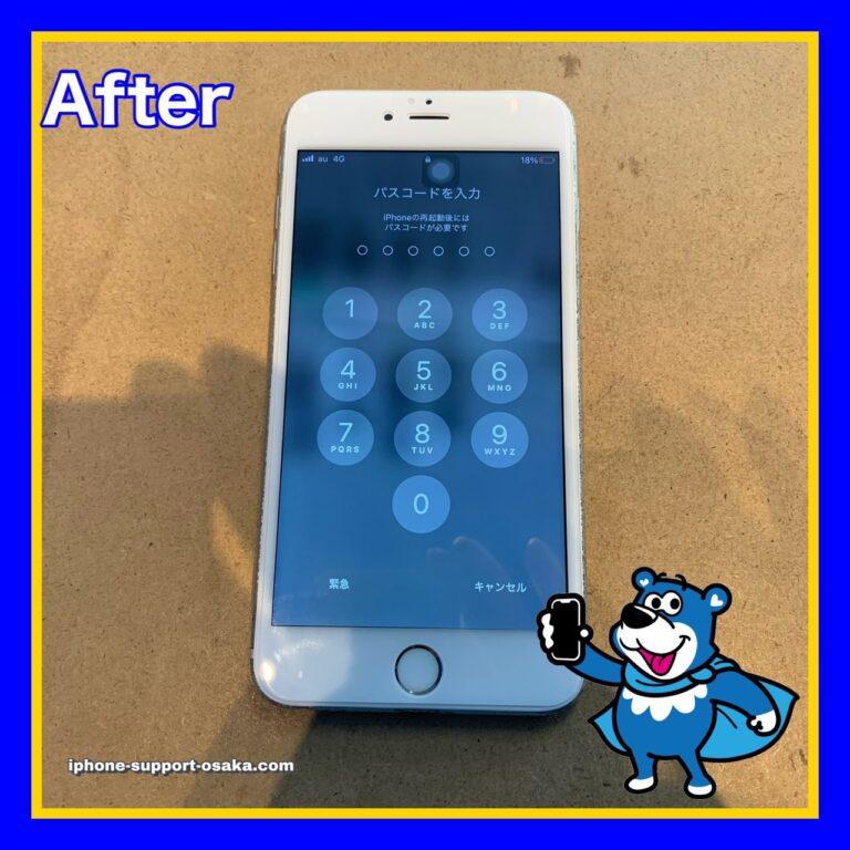 iPhone6s Plusの修理後の状態